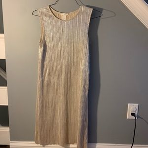 H&m Dress Women's Small holiday metallic